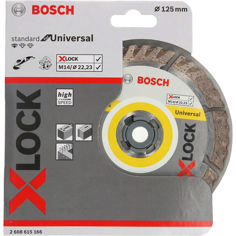 Bosch Tarcza diamentowa uniwersalna X-lock 125 mm