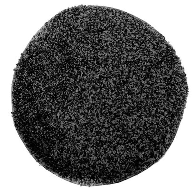 Dywan JAMAJKA czarny śr. 67 cm