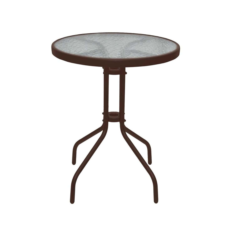 Stolik BISTRO brązowy śr. 60cm