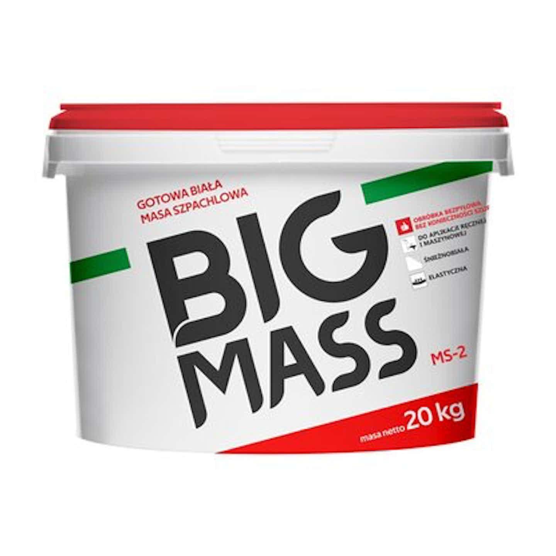Gotowa biała masa szpachlowa BIG Mass MS-2 20 kg