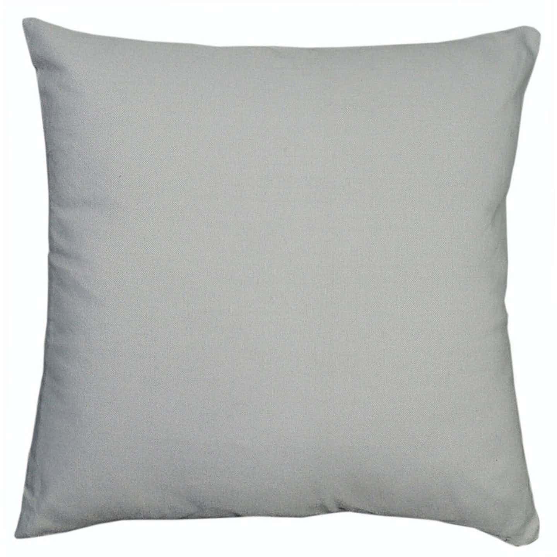 Poduszka dekoracyjna jasno szara  40x40 cm