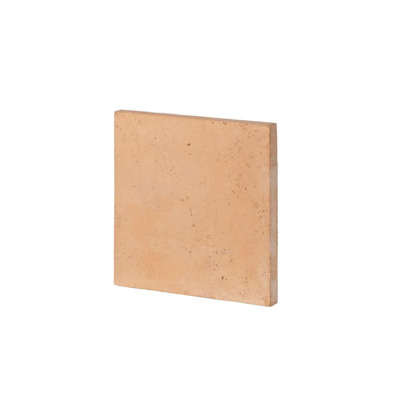 Bruk-bet Płyta tarasowa trawertyn słoneczny brzeg 44 cm x 44 cm x 3,5 cm