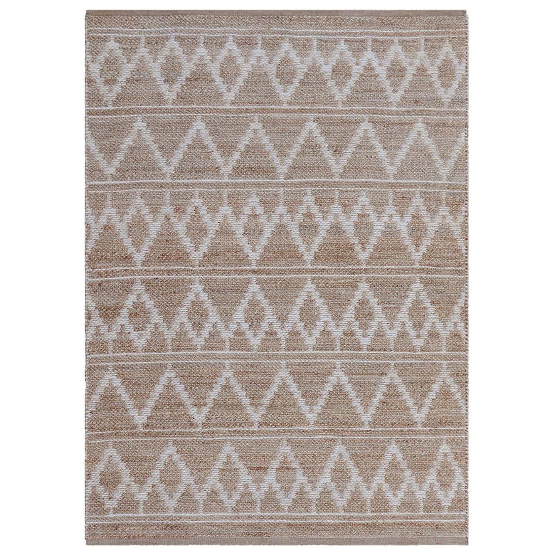 Dywan ręcznie tkany z juty dwustronny 160x230cm