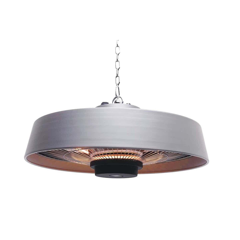 Elektryczna lampa grzewcza Venus srebrna 49 x 49 x 22 cm
