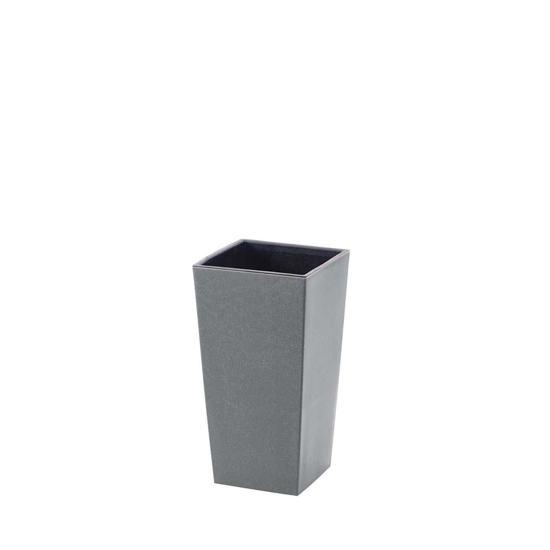 Prosperplast Doniczka Urbi Square Eco szary kam. 20x38 cm