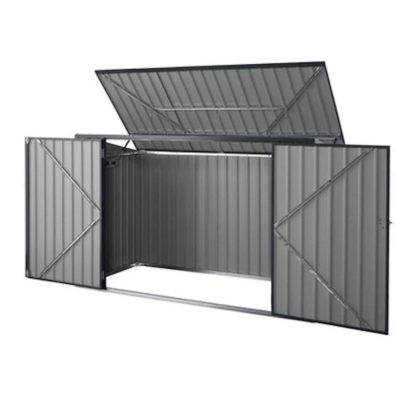 Obudowa pojemników na odpady 3 x 240 L 235 cm x 101 cm wys.: 133 cm