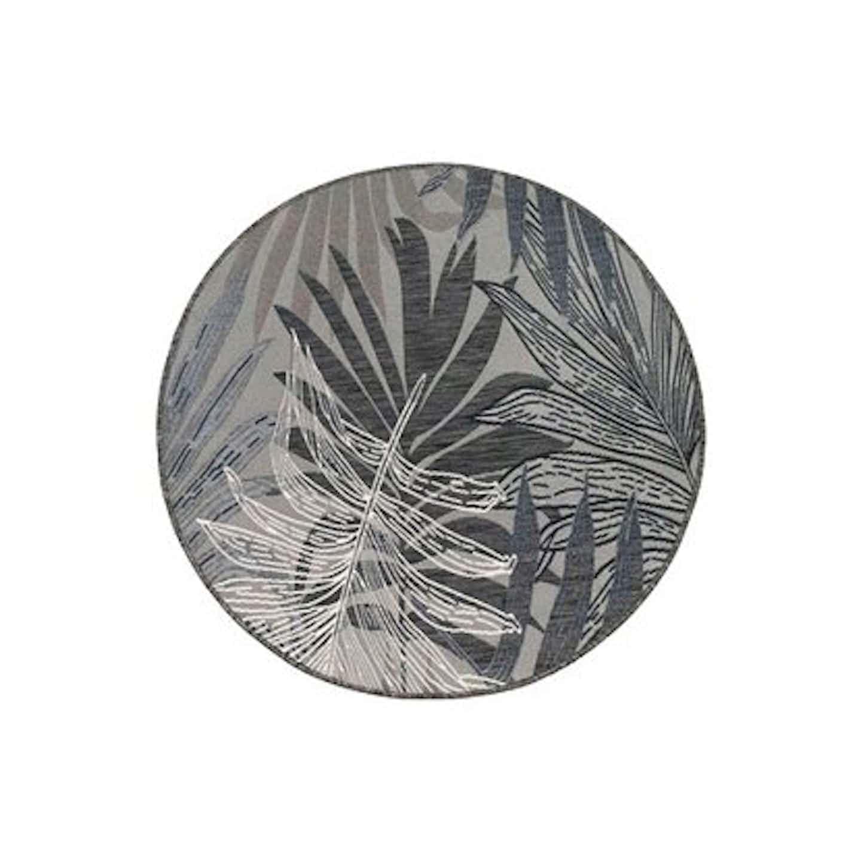 Dywan ZUMBA liście beżowy śr. 120 cm