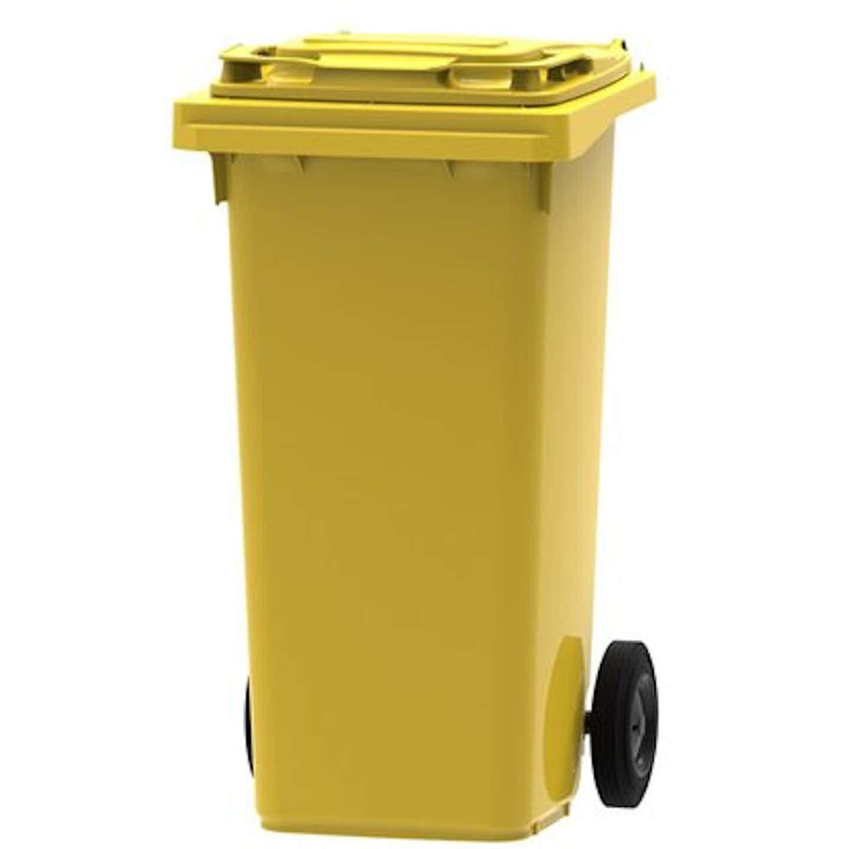 ESE Pojemnik MGB 120 L żółty na odpady plastikowe i metalowe