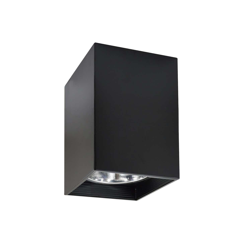 Polux Oprawa CERES kwadratowa czarna 1x60W E27