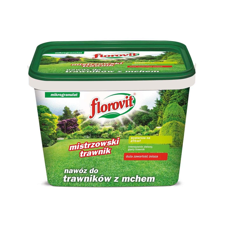 Florovit Nawóz do trawników z mchem 8 kg