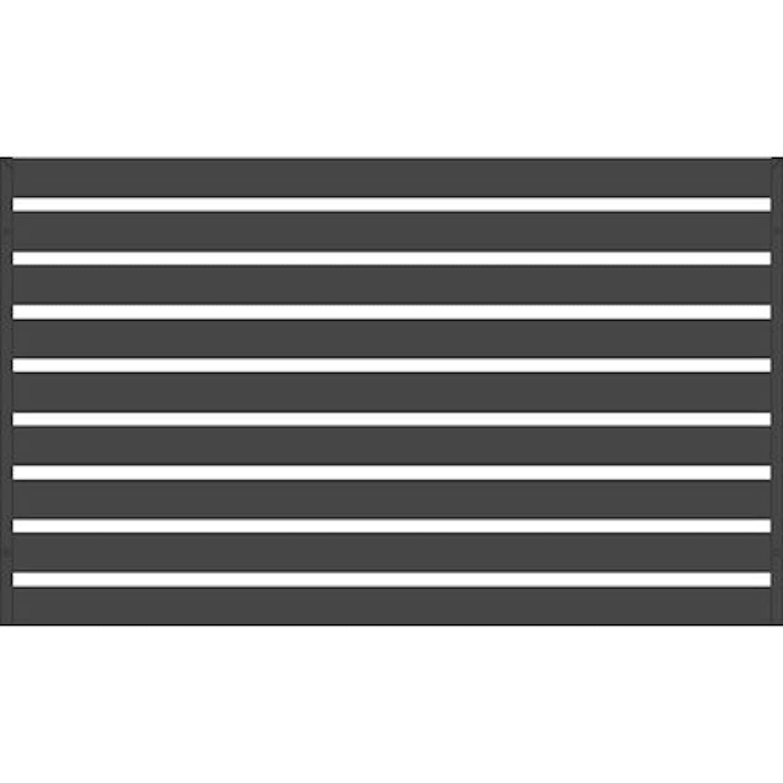 Jarmex Przęsło ogrodzeniowe Trento antracyt 200 cm x 120 cm