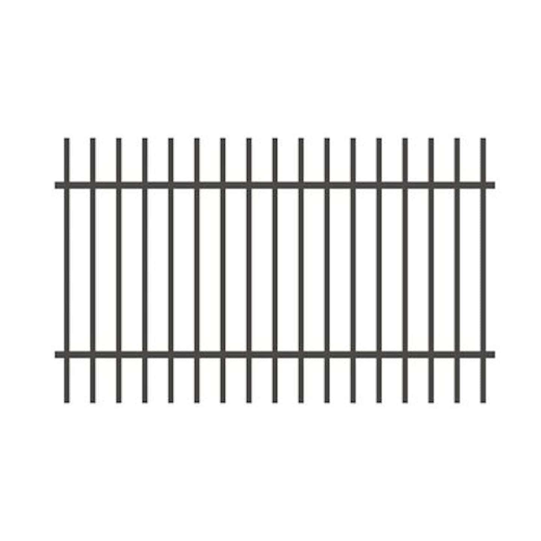 Jarmex Przęsło ogrodzeniowe Roma antracyt mat 200 cm x 120 cm