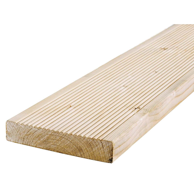 Dlh Deska tarasowa świerk skandynawski 250 cm x 14,5 cm x 2,4 cm