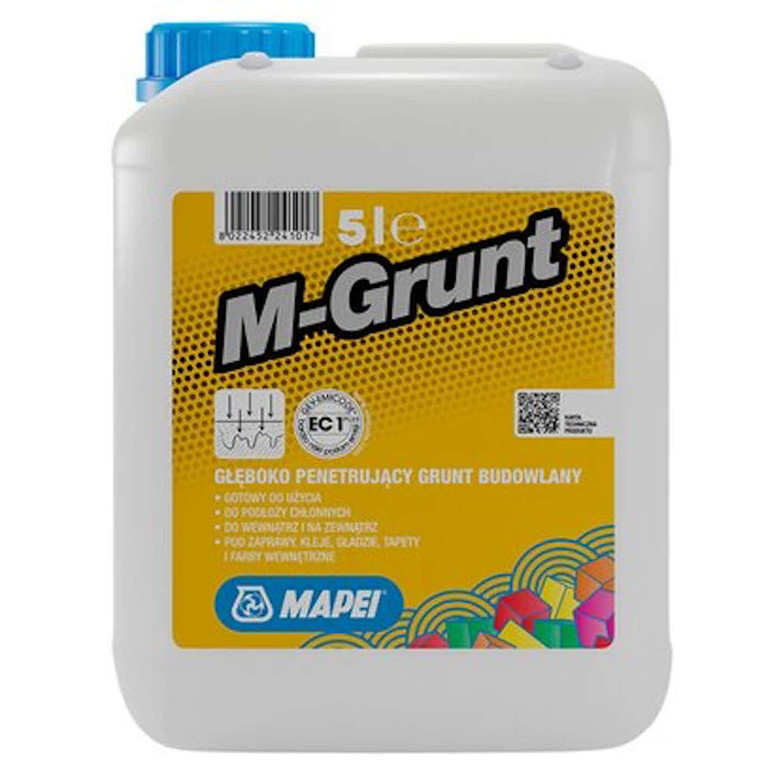 Mapei Grunt głęboko penetrujący M-Grunt 5 L