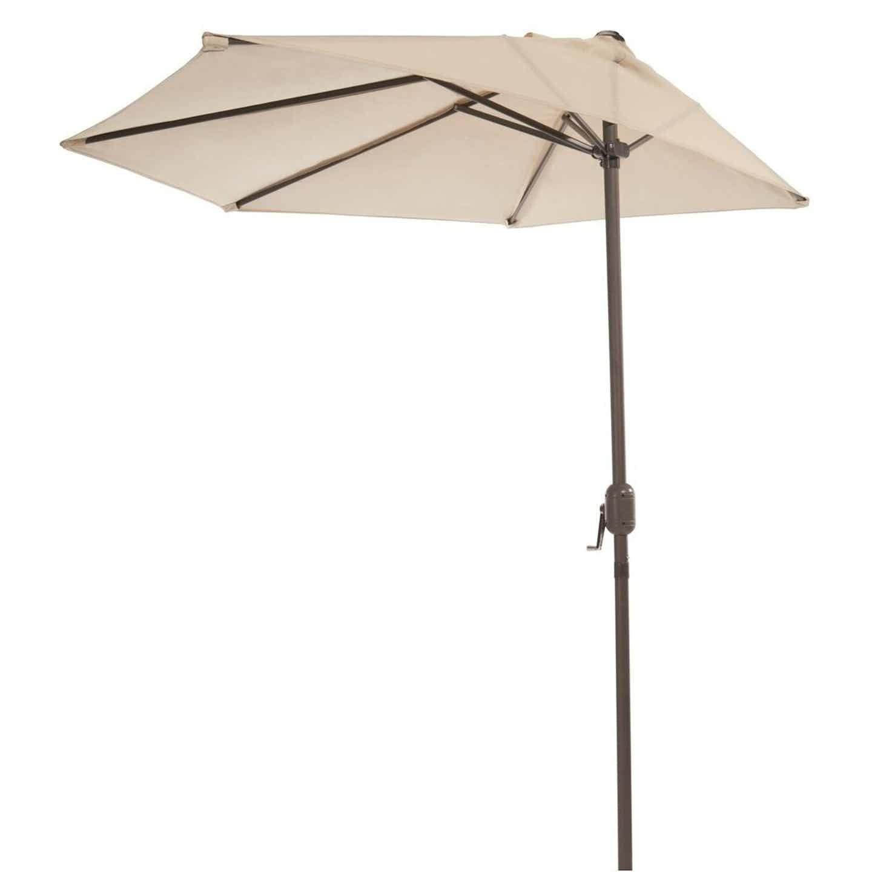 Półokrągły parasol balkonowy śr. 270 cm