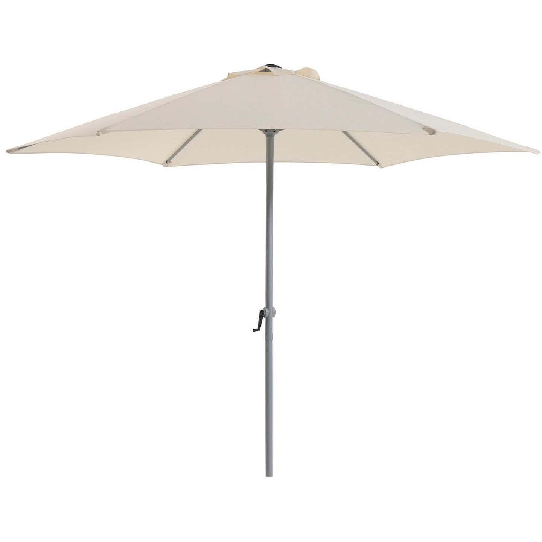 Parasol przeciwsłoneczny śr. 270 cm kremowy