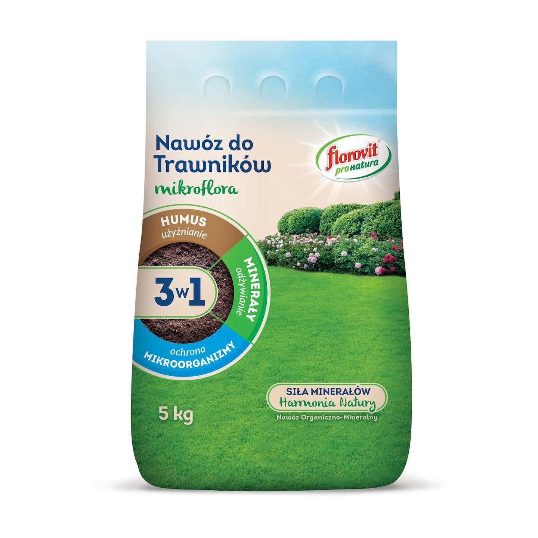 Florovit mikroflora do trawników3 w1, 5 kg