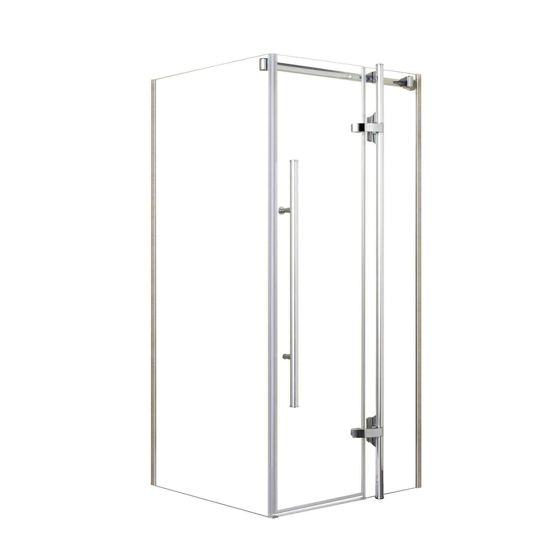 KABI Kabina prysznicowa Ferrara 80 x 80 szkło transparentne