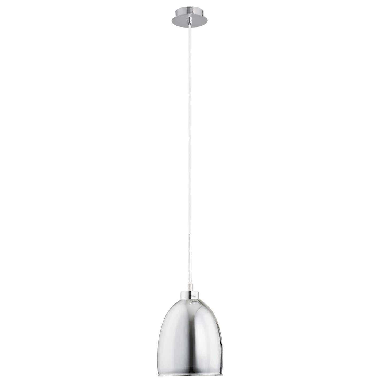 Alfa Lampa wisząca RONDA grafitowa E27