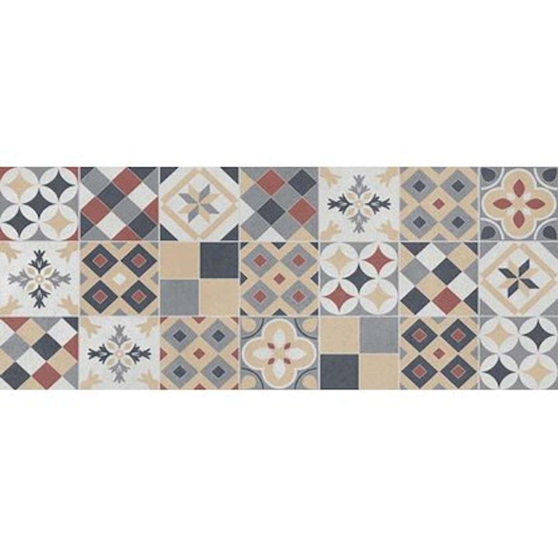Dekor AMSTERDAM patchwork color 20 cm x 50 cm