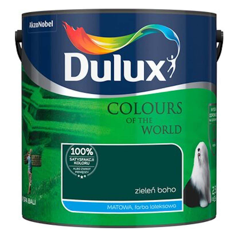Dulux Emulsja Kolory Świata zieleń boho 2,5 l
