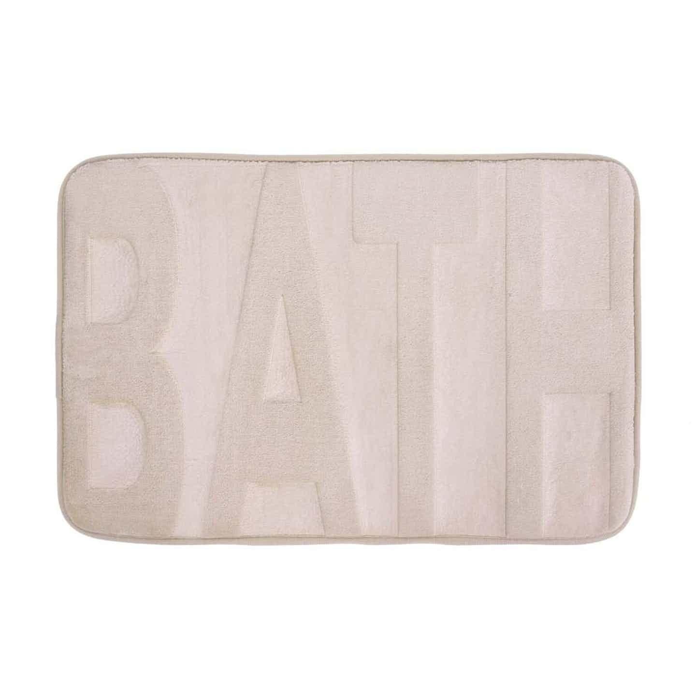 Dywanik łazienkowy Bath beżowy 60x40 cm