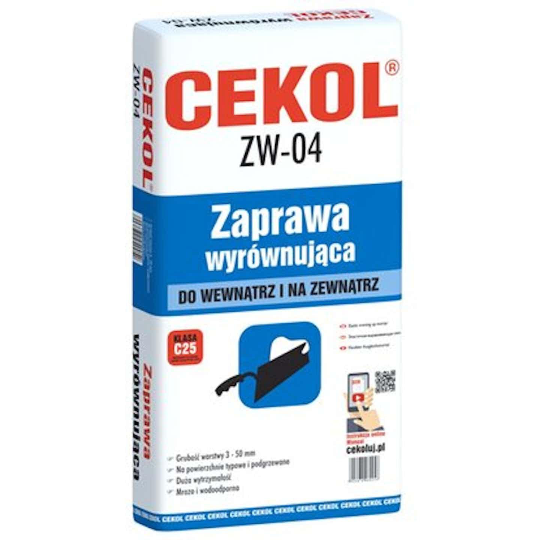 Cekol Zaprawa wyrównująca ZW-04 22 kg
