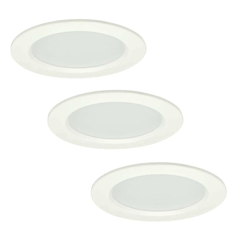 Polux Zestaw oczek MIRO LED okrągłe białe 3x4 W