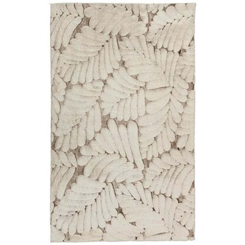 Dywan ROXANE liście beżowy 80 cm x 150 cm