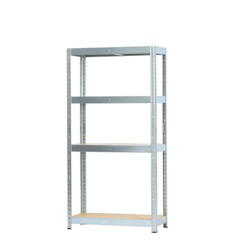 Regał metalowy 135 cm x 70 cm x 30 cm/4 półki/50 kg