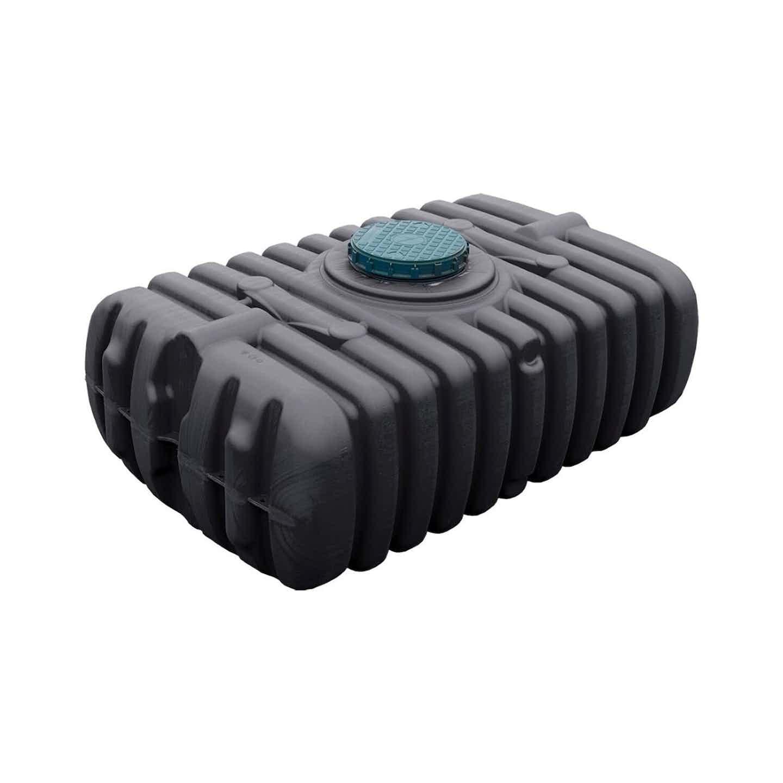 4Rain Zbiornik podziemny FlatBasic 1500 L czarny