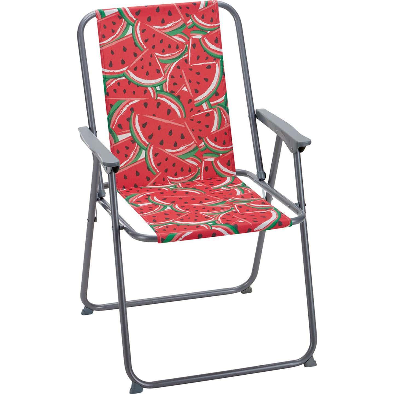 Krzeslo turystyczne Palmello arbuz