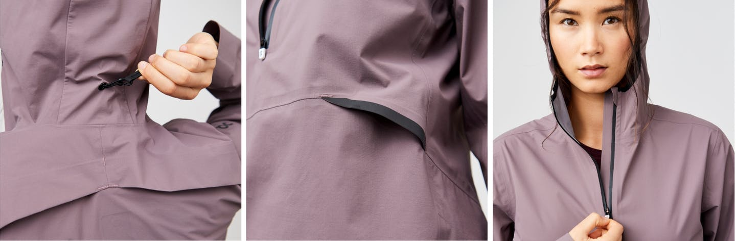 ON Waterproof Anorak - Regenjacke - Damen