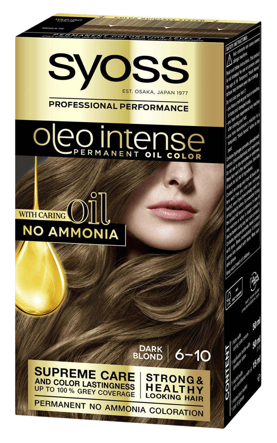 Syoss Oleo Intense Permanent Oil Color 6-10 Dark Blond