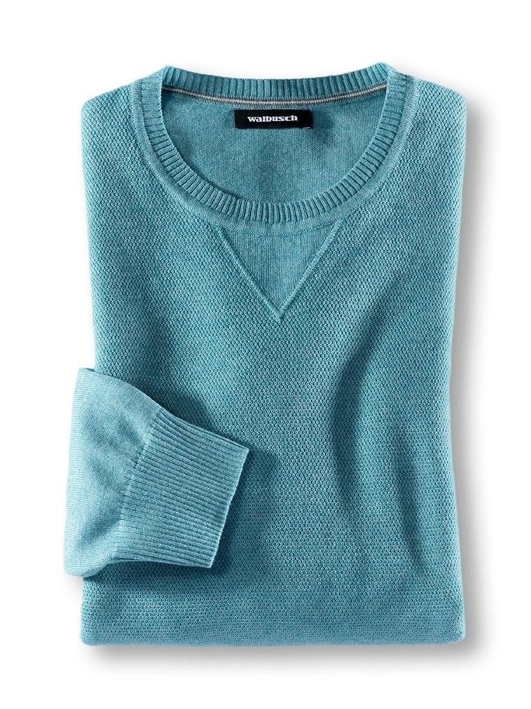 Reiskorn-Pullover Cottonblend