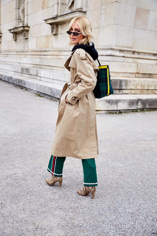 Glam-o-meter, Viktoria Rader, Spring Looks, Burberry Trenchcoat, Lodenfrey, Munich