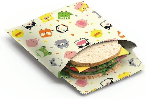 Bienenwachs Snack- & Sandwichbeutel  2er-Set