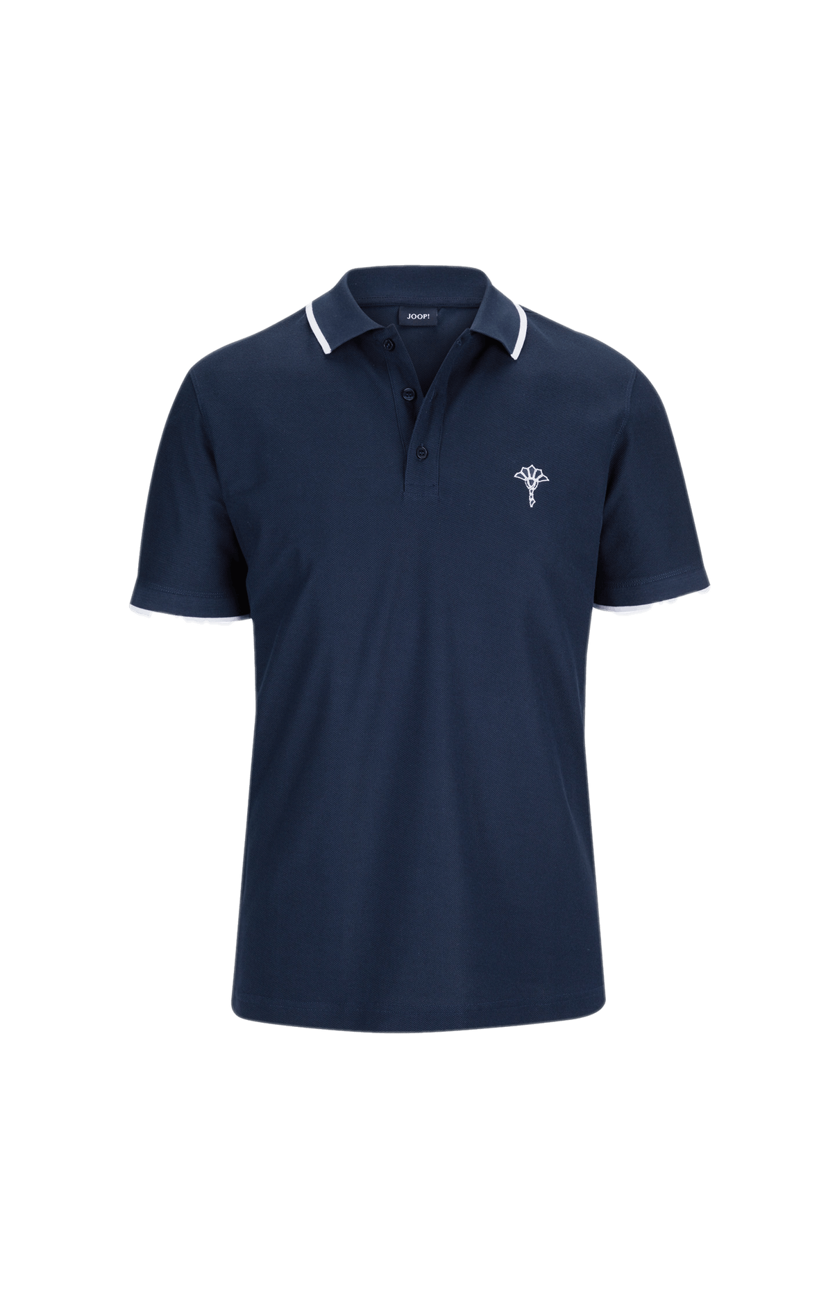 Poloshirt Cale in Navy
