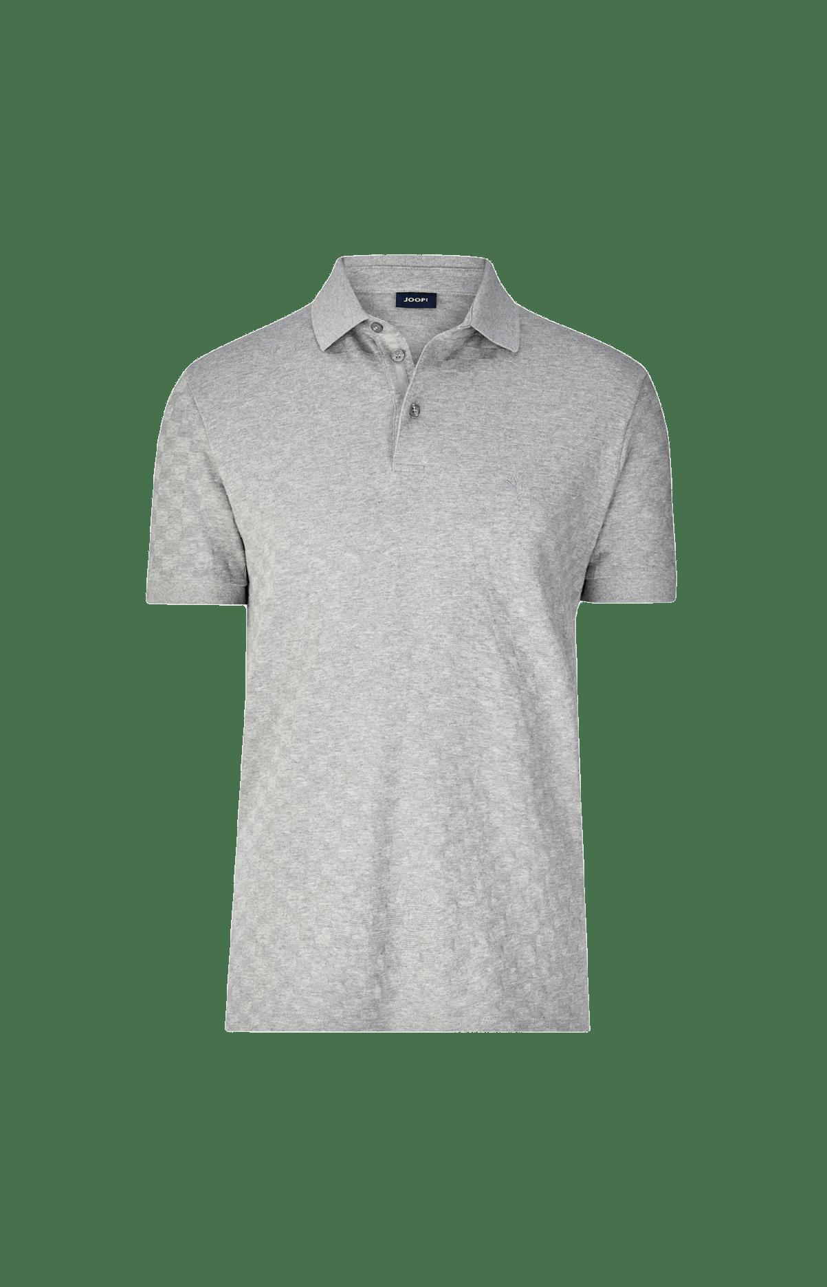 Baumwoll-Poloshirt Caio in Grau