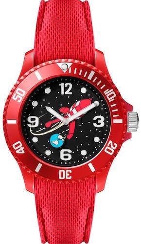 Cette montre ICE-WATCH se compose d'un boîtier Rond de 38 mm et d'un bracelet en Silicone Rouge