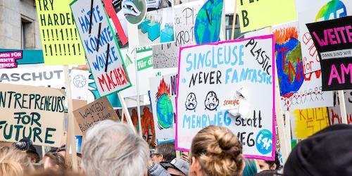 Klimastreik in Berlin - Entrepreneurs for Future gemeinsam mit Fridays for Future