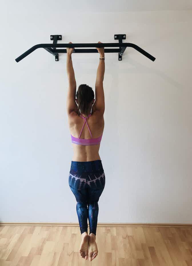 Shoulderblade Pull-up, SportScheck, Yoga, Klimmzug