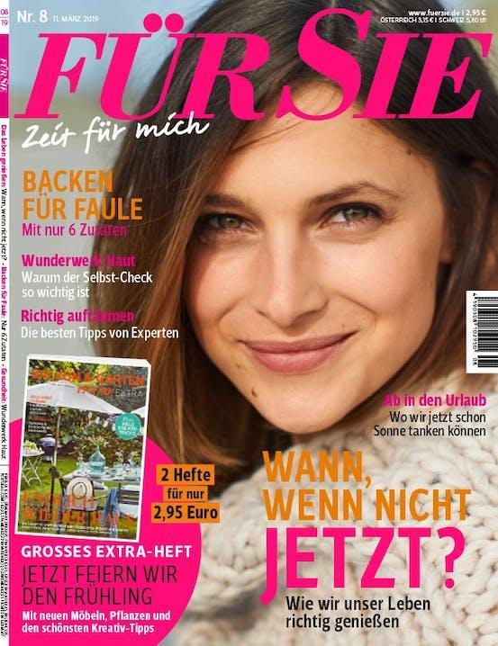 Magazincover der Zeitschrift Fuer Sie