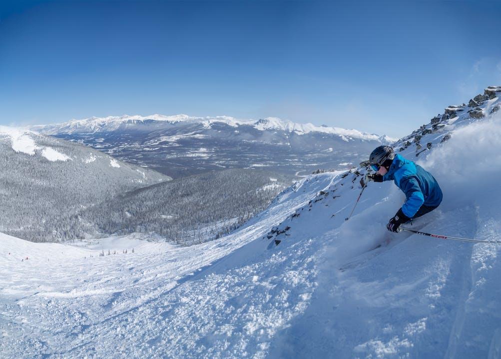 Marmot Basin Skifahren Kanada