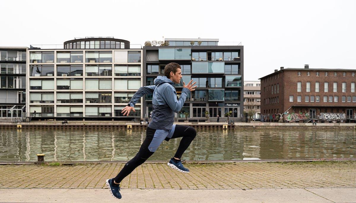 Lauf-ABC Übung Sprunglauf