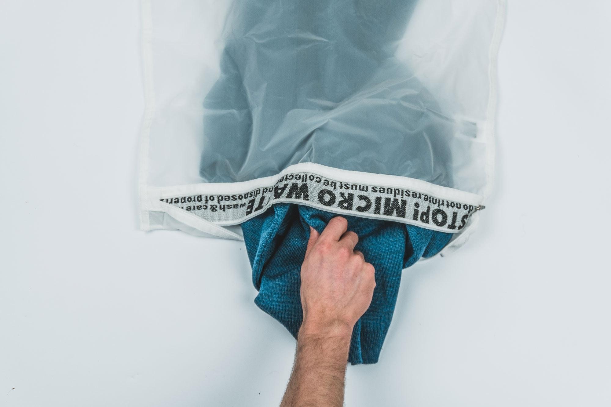 Guppyfriend Waschbeutel Washing bag Stop Micro Waste
