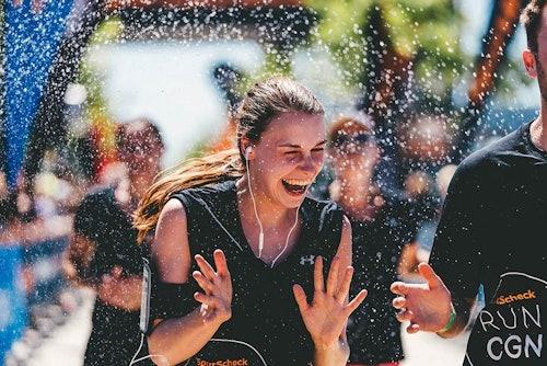 Spaß trotz Hitze beim SportScheck Run Köln