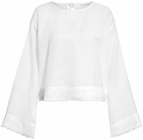 Bluse, Shirt, bella Dahl, Weiß, White, Lodenfrey