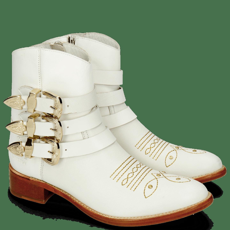 cowboy boot white