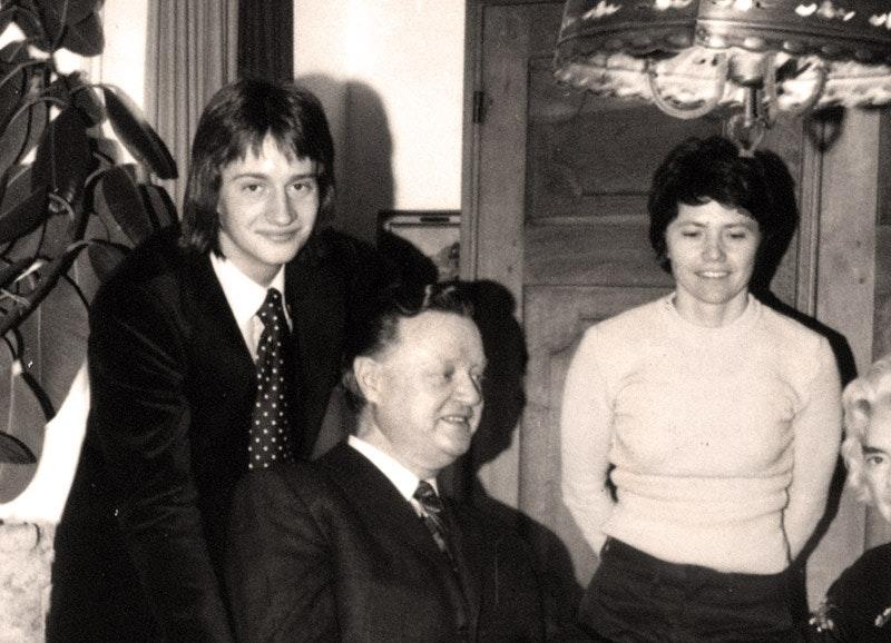 V.l.n.r.: Flori Schuster, Gustl Schuster und Marianne Dötzer
